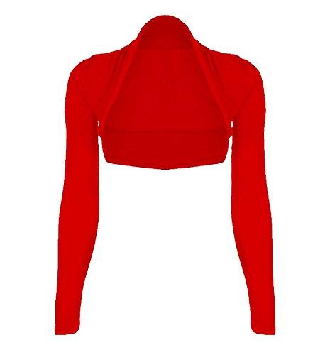 WearAll Damen Strickjacke * One size Gr. XL 42-44, rot