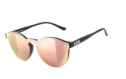 COR: Custom Optic Revolution - Sonnenbrille - 0845 - laser rosé verspiegelt