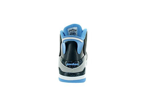 Nike Herren Air Jordan Dub Zero Basketballschuhe, Talla Gris / Azul (Wlf Gry / Unvrsty Bl-Clssc Chrcl)