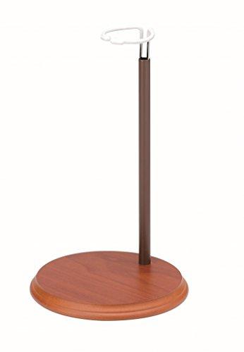 GLOREX Puppenständer, Holz, Natur, 16.5 x 16.5 x 23 cm