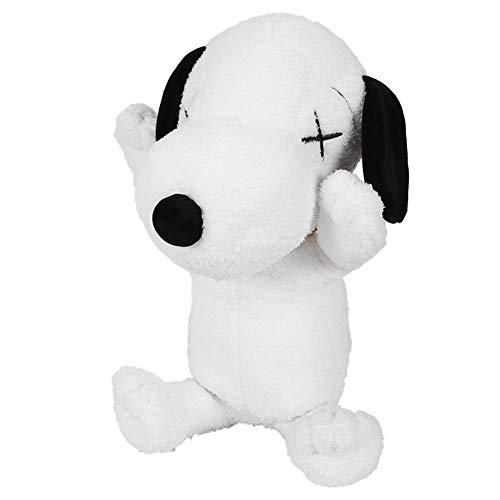 BAONZEN Übergroße Puppe niedlichen Plüschtier schwarz Hund Puppe Rag Doll Junge Geburtstagsgeschenk weiblich, 55cm