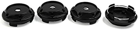 Ocamo 4 pcs 68mm Diameter Wheel Center Hub Cap Cover Guard for Car Auto