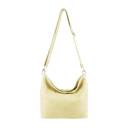OBC Only-Beautiful-Couture, Borsa a spalla donna argento argento 37x24x13 cm (BxHxT) beige