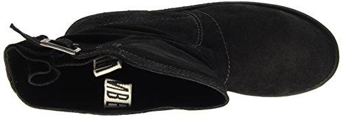 Bikkembergs Vintage 254 Mid Boot W Suede, Baskets Hautes Femme Gris - Grigio (Anthracite)