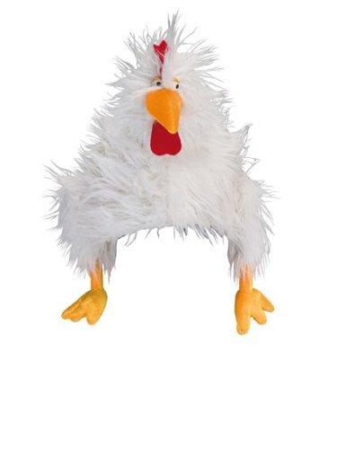 Huhn Mütze Hühnermütze Chicken Cap tierische Kopfbedeckung witziger -
