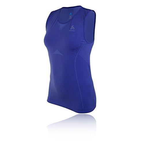 Odlo Damen Singlet Crew Neck Evolution Light Unterhemd Blue