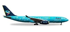 Herpa 530927Vehículo Azul Airbus A330-200viagens-PR de AIU, Red/Blanco/Azul