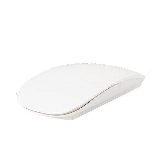 HaoYiShang Wireless Ultra-dünne Maus für Mac 2.4G Air Computer-Maus mit Scrolling-Taste Touch Richtung und leicht einstellbare DPI Für alle Apple Windows PC und Laptop mit USB-Port
