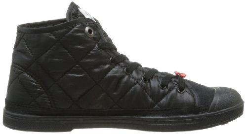 Le Temps des Cerises - Sneaker Basic 03, Donna Nero (Noir (Matelasse Black))