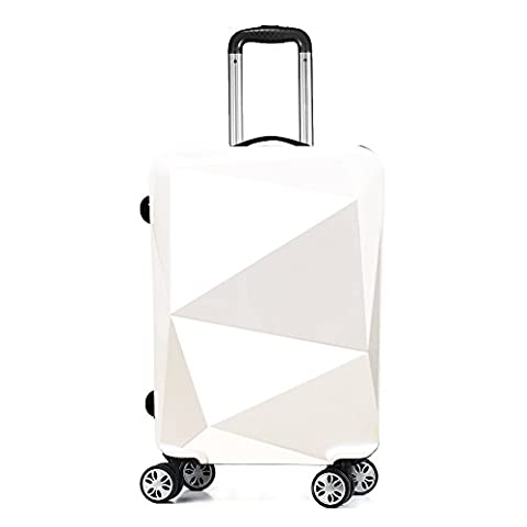 PARTYPRINCE Valise Bagage taille 68 cm ABS ultra léger rigide