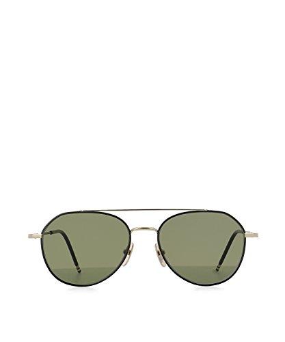 thom-browne-occhiali-da-sole-uomo-tb105ablkgld55-acciaio-oro