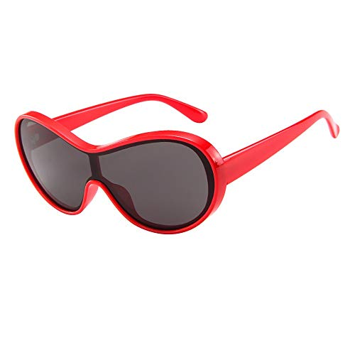Rosennie Unisex Sonnenbrillen Vintage Retro Brille Großer Rahmen Sonnenbrillen Eyewear Frauen Männer Klassische Europa Sunglasses Vintage Shaded Objektiv Flieger Sonnenbrille