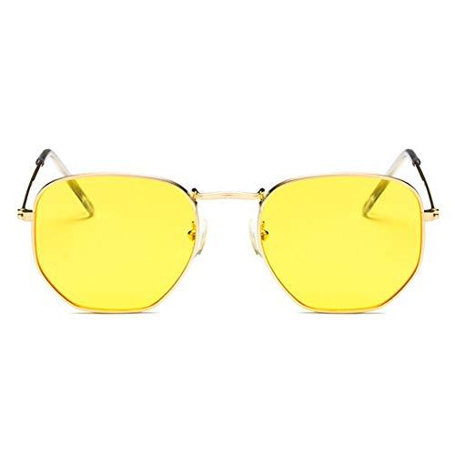 KCJKXC Red Bean Irregula Sonnenbrillen Frauen Männer Sonnenbrillen Für Frauen Legierung Spiegel Sonnenbrille Ray Weiblich