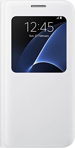 Caso Vista Cubierta Samsung Galaxy S De S7, Blanco