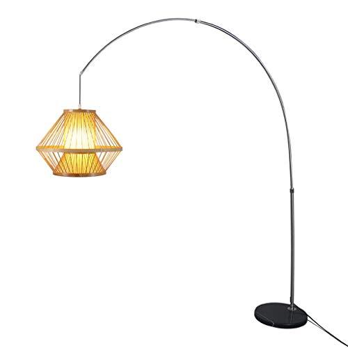 $stehlampe Stehlampe Tee Raum Chinesische Sofa Dekoration Angeln Lampe Restaurant Japanischen Stil Augenschutz Leselampe (Design : Normal) -