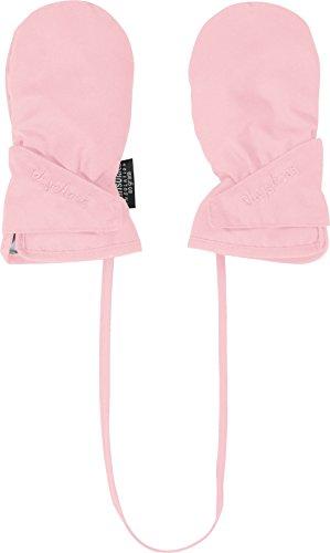 Playshoes Baby-Fäustlinge mit Thinsulate mit Klettverschluss Wind-und wasserdichte Kinder-Handschuhe, rosa, 1 (0-12 Monate)