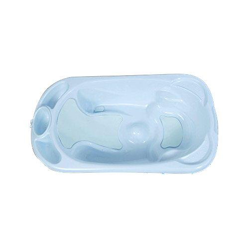 Cubeta antideslizante para bebés. Bañeras para bebé anatómica