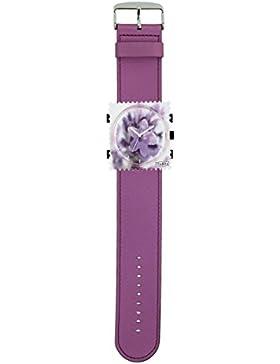 S.T.A.M.P.S. Stamps Uhr komplett - Duftuhr Stamps Provence auf Armband satin violett