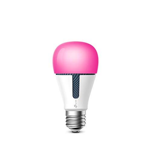 TP-Link KL130 Kasa Smart WLAN Glühbirne wechselnde Farben, verschiedene Farbtöne, E27, 10W, kompatibel mit Amazon Alexa, Google Home und IFTTT, kein Hub notwendig, Kasa-App [Energieklasse A+] -