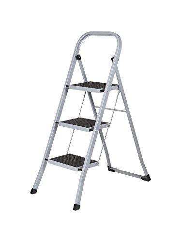 Arcama TH03 - Escalerilla (acero, 30 x 20 cm, 3 peldaños, EN14183)