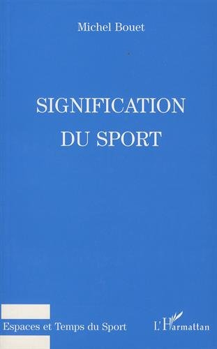 Signification du sport