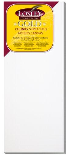 Loxley Gold LCC-3012 - Lienzo preestirado, color blanco