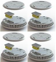 FireAngel ST-630 DET mit W2 Funkmodul als 4erSET mit Thermoptek-Technologie