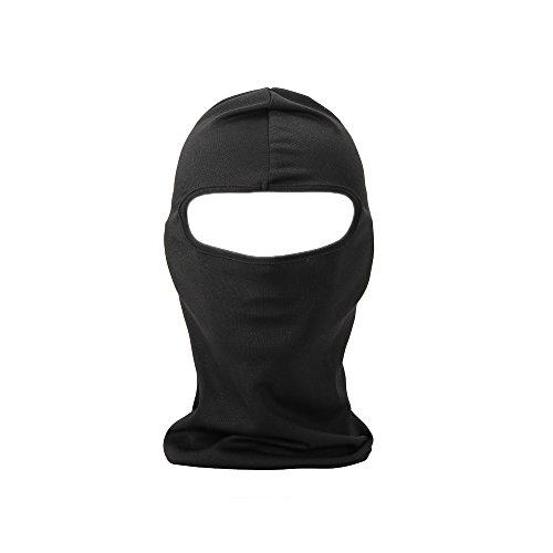 FENTI Multifunktionen Gesichtsmaske Gesichtschutz Maske Warm Fahrrad Ski Snowboard Sport Schwarz (Ski Sturmhaube Maske)