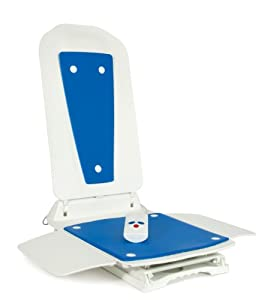 Bath Lift Bathmaster Deltis Complete with Blue Covers - EU, Bath Lift, Bath Chair,Making Bath Easier for Handicapped