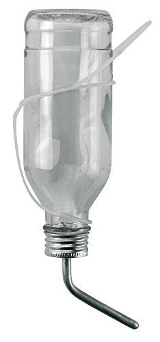 Botella de F, de conejo 500 ml de vidrio de Alemania con tubo de alumi