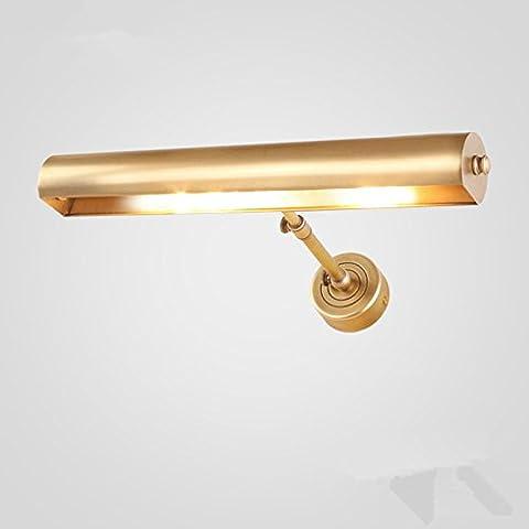 FEI&S lampada da parete a luce del monitor al posto letto camera da letto moderno minimalista Specchio specchio di luci accese le spie delle luci nelle stanze di soggiorno n. 6E