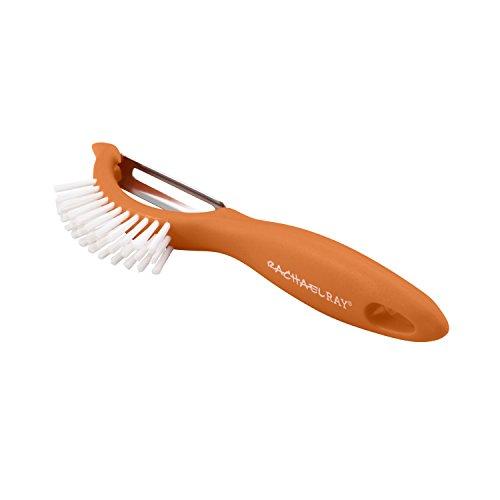 Rachael Ray Tools 3-in-1 Vegetable Peeler/Brush