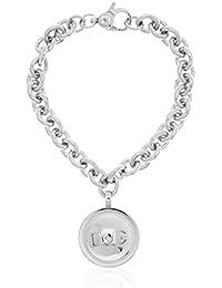 Dolce & Gabbana - DJ1020 - GRAY - Bracelet Femme - Acier