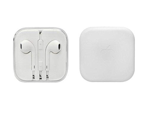 100% Original Apple Earpods In-Ear Ohrhörer mit Freisprecheinrichtung und Mikrofon + Lautstärkeregler für Ipad Iphone 6 / 6Plus / 5 / 5S / 5C / 4 / 4 -- plus