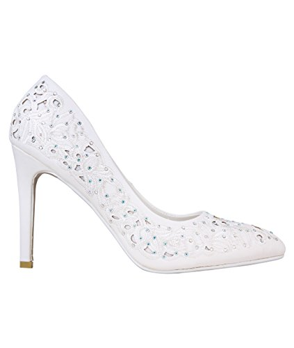 Scarpe da Sposa: Bianco [16266],