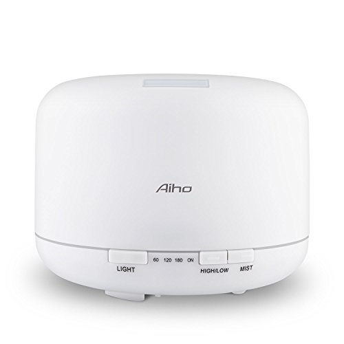 aiho-500ml-essential-oil-diffuser-auto-7-color-changing-light-ultrasonic-cool-mist-humidifier-silent