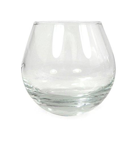 Ginsanity [Balancement Verre à Whisky avec Personnalisés Gravure - Tumbler - pour Scotch, Bourbon, Cognac et Plus Volume de Remplissage 280ml