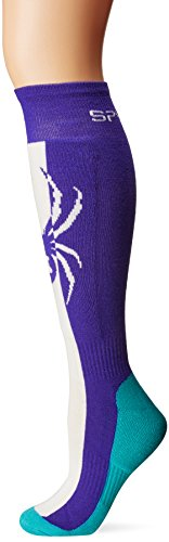 Spyder Damen Swerve Socke, damen, Blue My Mind/White/Baltic (Bekleidung Blue Baltic)