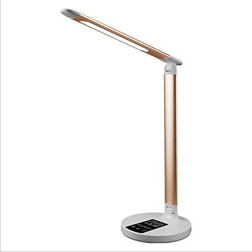 Usb wiederaufladbare Schreibtischlampe - Student Desktop-Lesetisch lernen Schreibtisch Lampe, ewigen Kalender Falten LED Augenschutz Tischlampe