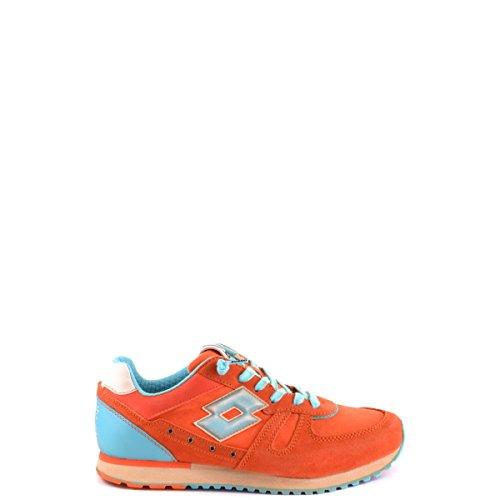 Sneakers nn236 Lotto Donna Rosso Arancione