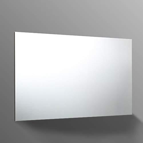 Specchio bagno 120x70 cm reversibile con telaio a supporto