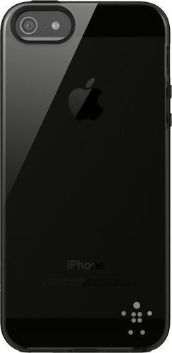 Belkin Grip Sheer TPU-Schutzhülle (geeignet für iPhone 5/5s, iPhone SE) schwarz