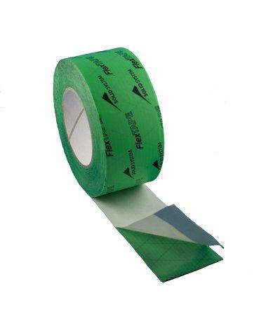 flex-tape-for-vapour-retarder-vapour-barrier-insulation-tape-green-coil-length-25mtr-different-sizes