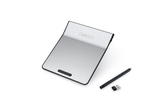 Wacom-Stift mit Touch-Pad Wireless Bamboo Pad Schwarz CTH300K (Japan-Import) (Bamboo Wireless Touchpad)