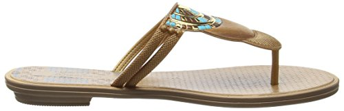 Grendha Tribal Ii Thong, Sandales Plateforme femme Or - Doré