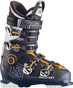 SALOMON Herren Ski-Stiefel X Pro X90 CS Skistiefel, Schwarz/Blau/Weiss, 26