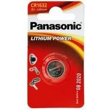 Panasonic CR1632 - Piles Lithium 3V - Non rechargeables
