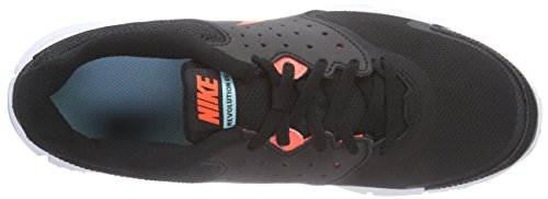 Nike Wmns Revolution Eu, Scarpe sportive, Donna Black/Hyper Orange-Copa