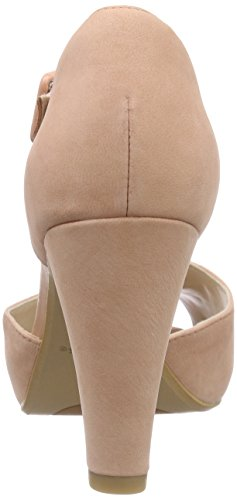 ClarksKendra Flower - Scarpe con Tacco donna Rosa (Peach Nubuck)