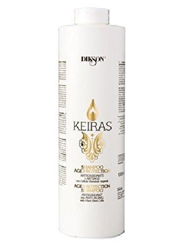 DIKSON KEIRAS AGE PROTECTION SHAMPOO antioxydant et le shampoing avec des cellules souches végétales anti-âge 1000 ml